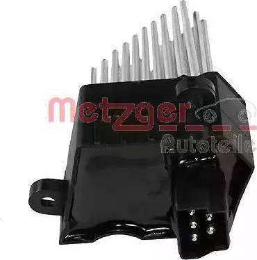 Metzger 0917015 - Блок управління, опалення / вентиляція autozip.com.ua