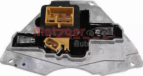 Metzger 0917022 - Блок управління, опалення / вентиляція autozip.com.ua