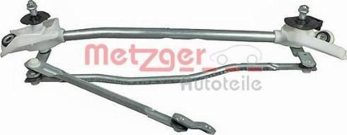 Metzger 2190394 - Система тяг і важелів приводу склоочисника autozip.com.ua