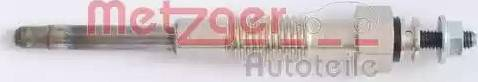 Metzger H1 667 - Свічка розжарювання autozip.com.ua