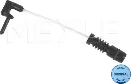 Meyle 014 054 0001 - Сигналізатор, знос гальмівних колодок autozip.com.ua