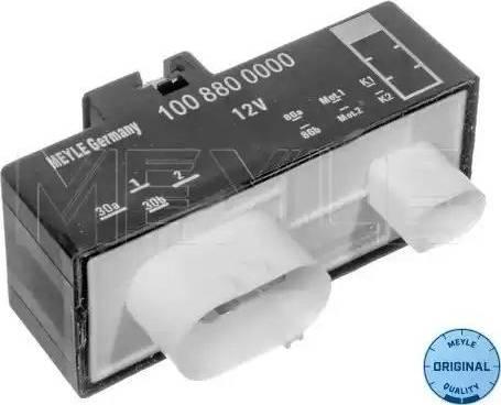 Meyle 1008800000 - Блок управління, ел.  вентилятор (охолодження двигуна) autozip.com.ua