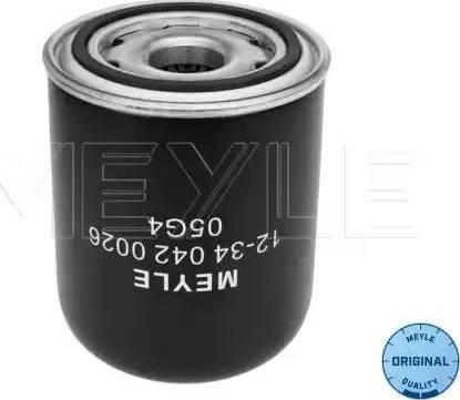 Meyle 12-34 042 0026 - Патрон осушувача повітря, пневматична система autozip.com.ua
