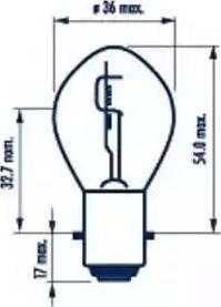 Narva 49531 - Лампа розжарювання, фара дальнього світла autozip.com.ua