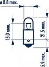 Narva 17131 - Лампа, вхідний освітлення autozip.com.ua