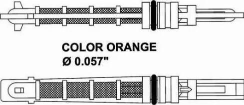 NRF 38449 - Розширювальний клапан, кондиціонер autozip.com.ua