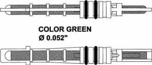 NRF 38353 - Розширювальний клапан, кондиціонер autozip.com.ua