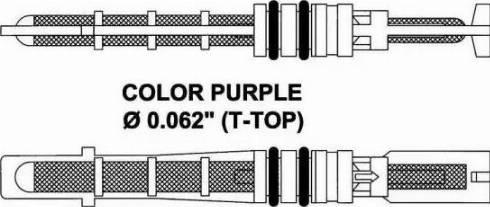 NRF 38206 - Розширювальний клапан, кондиціонер autozip.com.ua