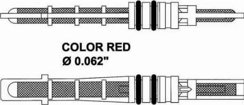 NRF 38208 - Розширювальний клапан, кондиціонер autozip.com.ua
