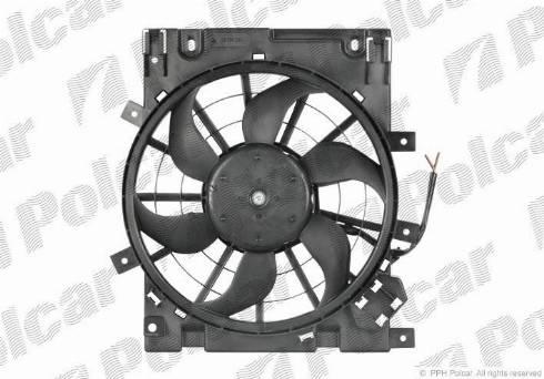 Polcar 550923W7 - Модуль охолодження autozip.com.ua