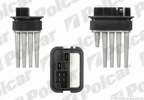 Polcar 5508KST4 - Блок управління, опалення / вентиляція autozip.com.ua