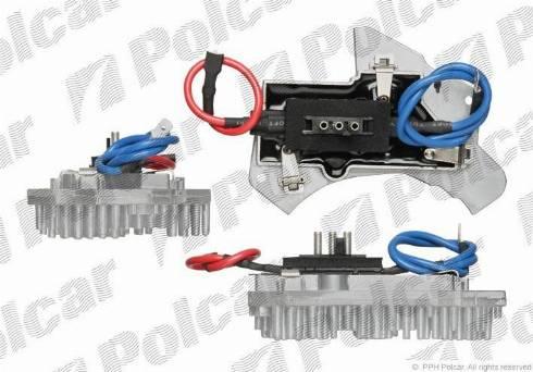 Polcar 5002KST1 - Блок управління, опалення / вентиляція autozip.com.ua