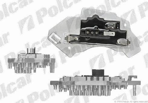 Polcar 5015KST2 - Блок управління, опалення / вентиляція autozip.com.ua