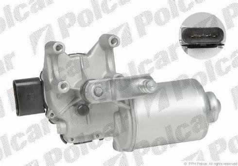 Polcar 6915SWP1 - Система тяг і важелів приводу склоочисника autozip.com.ua