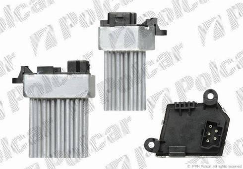 Polcar 2008KST1 - Блок управління, опалення / вентиляція autozip.com.ua