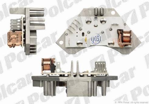 Polcar 2326KST2 - Блок управління, опалення / вентиляція autozip.com.ua
