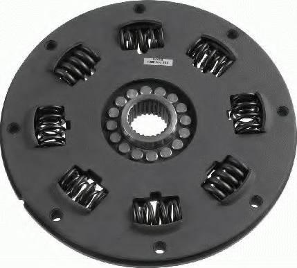 SACHS 1866 600 024 - Торсійний демпфер, зчеплення autozip.com.ua
