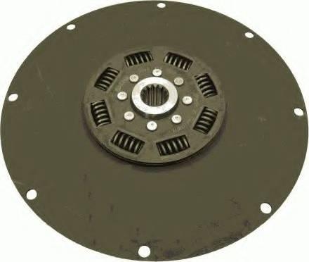 SACHS 1866 122 002 - Торсійний демпфер, зчеплення autozip.com.ua
