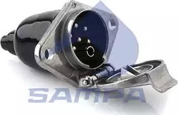 Sampa 095.015 - Адаптер, розетка autozip.com.ua