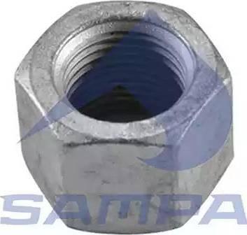Sampa 075.109 - Гайка кріплення колеса autozip.com.ua