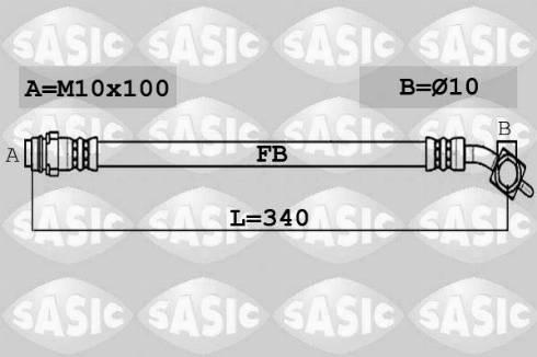 Sasic SCL0221 - Комплект зчеплення autozip.com.ua