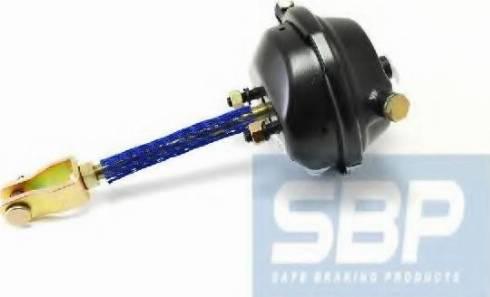 SBP 05BCT16LS - Гальмівна пневматична камера autozip.com.ua