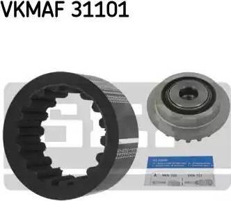 SKF VKMAF 31101 - Комплект еластичної муфти зчеплення autozip.com.ua