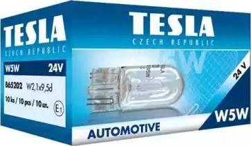TESLA B65202 - Лампа, вхідний освітлення autozip.com.ua