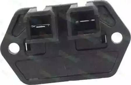 Thermotec DEF006TT - Додатковий резистор, вентилятор кондиціонера autozip.com.ua