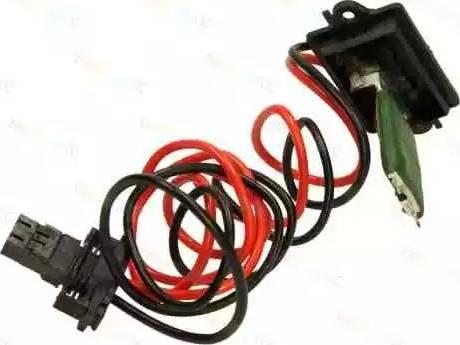 Thermotec DER002TT - Додатковий резистор, вентилятор кондиціонера autozip.com.ua