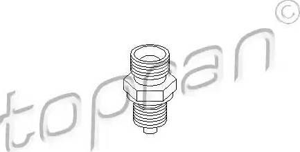 Topran 401340 - Фланець, блок подачі палива autozip.com.ua