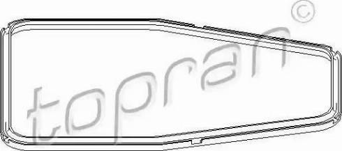 Topran 500781 - Прокладка, масляний піддон автоматичної коробки передач autozip.com.ua