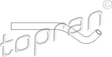 Topran 501556 - Гідравлічний шланг, рульове управління autozip.com.ua