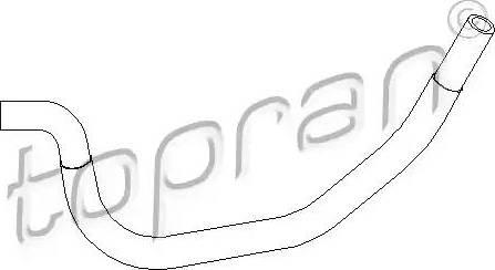 Topran 501558 - Гідравлічний шланг, рульове управління autozip.com.ua