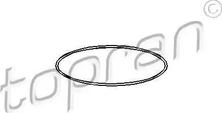 Topran 104525 - Прокладка, гільза циліндра autozip.com.ua