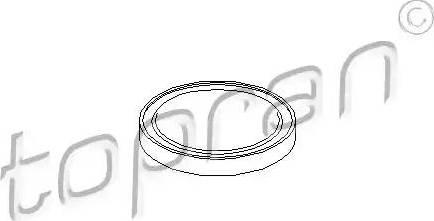 Topran 108618 - фланця кришка, ступінчаста коробка передач autozip.com.ua
