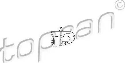 Topran 108870 - Кришка, ручка дверей autozip.com.ua