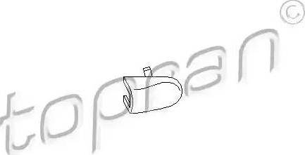Topran 108867 - Кришка, ручка дверей autozip.com.ua