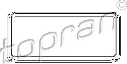 Topran 108756 - Прокладка, масляний піддон автоматичної коробки передач autozip.com.ua