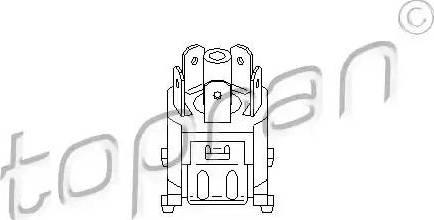 Topran 103428 - Вимикач вентилятора, опалення / вентиляція autozip.com.ua
