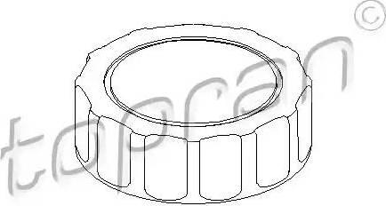Topran 103558 - Поворотна ручка, регулювання спинки сидіння autozip.com.ua