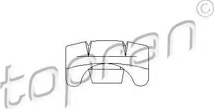 Topran 103635 - Регулювальний елемент, регулювання сидіння autozip.com.ua
