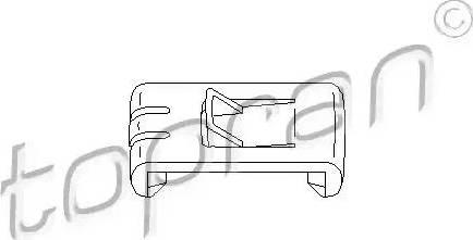 Topran 102673 - Регулювальний елемент, регулювання сидіння autozip.com.ua