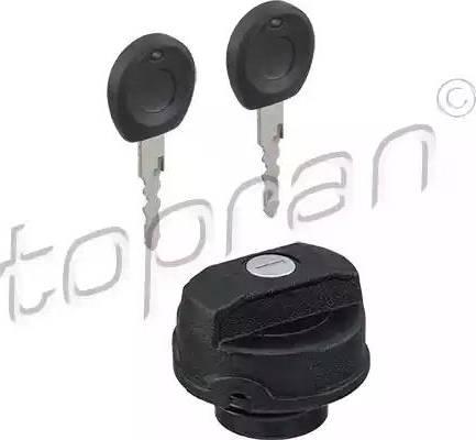 Topran 102746 - Кришка, паливної бак autozip.com.ua