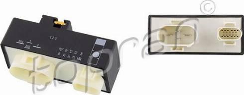 Topran 116620 - Блок управління, ел.  вентилятор (охолодження двигуна) autozip.com.ua