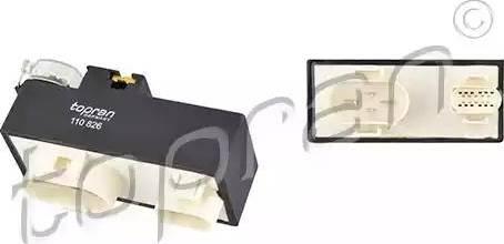 Topran 110826 - Блок управління, ел.  вентилятор (охолодження двигуна) autozip.com.ua