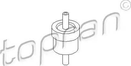 Topran 111298 - Клапан, вакуумний насос autozip.com.ua