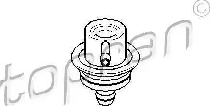 Topran 108125 - Регулятор тиску подачі палива autozip.com.ua