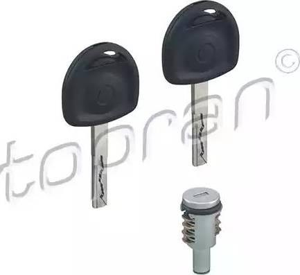 Topran 205811 - Циліндр замка autozip.com.ua