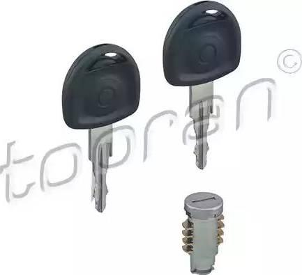 Topran 200020 - Циліндр замка autozip.com.ua